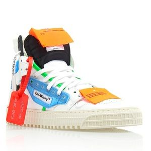 OFF WHITE COURT 3.0 SHOES in Multi-colored: size 7